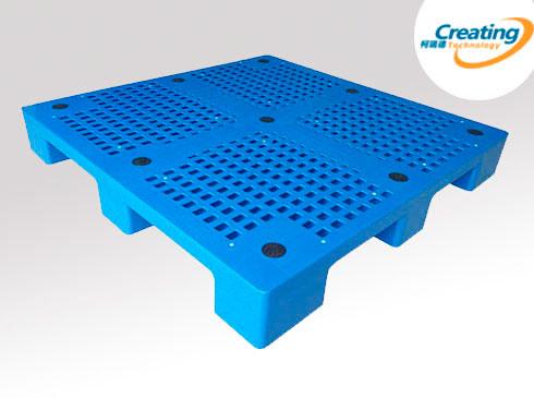 九脚网格托盘|九脚平板塑料
